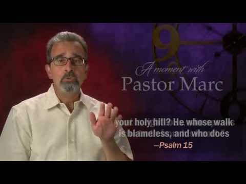 "A Moment with Pastor Marc #15<br /><strong>""Keep Your Word!""</strong>"