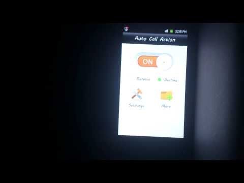 Video of Auto Call Picker