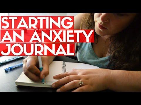 STARTING MY ANXIETY JOURNAL #MentalHealthMonday