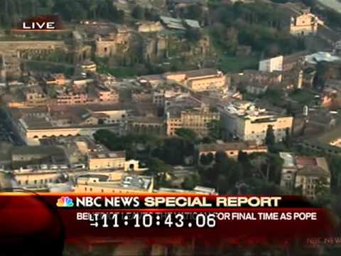 NBC Special Report - Resignation of Pope Benedict XVI (28.02.2013)