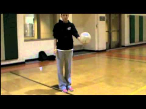 underhand - This video was made for my EdTech class. It is about how to serve a volleyball underhand.