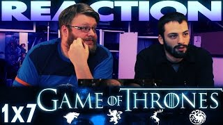 """Game of Thrones 1x7 REACTION!! """"You Win or You Die"""""""