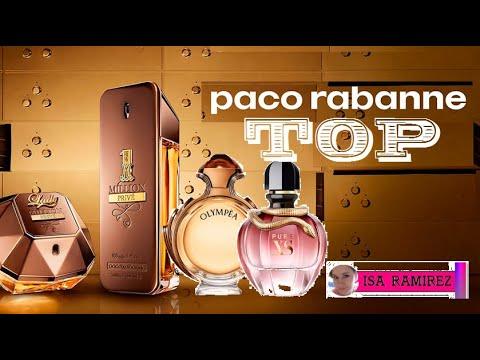 Top 3 perfumes de Paco Rabanne.