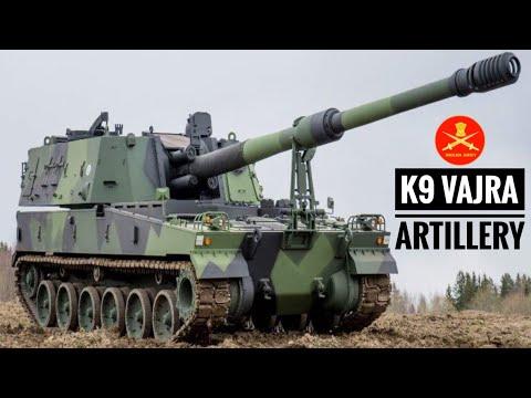 K9 VAJRA - World's Most Fearsome Artillery | India's K9 VAJRA Artillery Guns