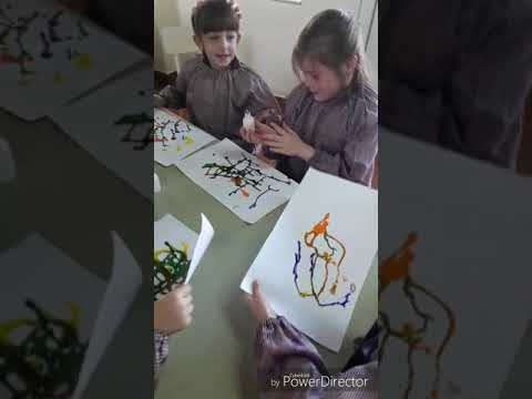 "Sala Arco Iris Turno Tarde - Secuencia ""Pintura en acción"""