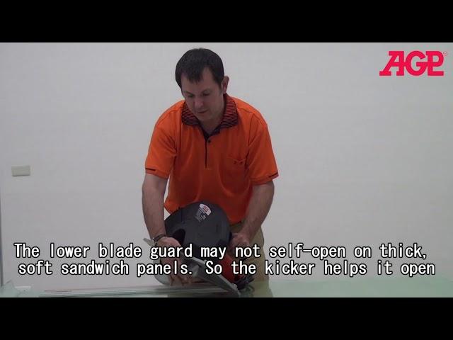 AGP CS320 Metal Cutting Circular Saw - Introduction & Operation