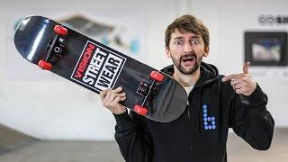 Don't break the Home Depot Skateboard!