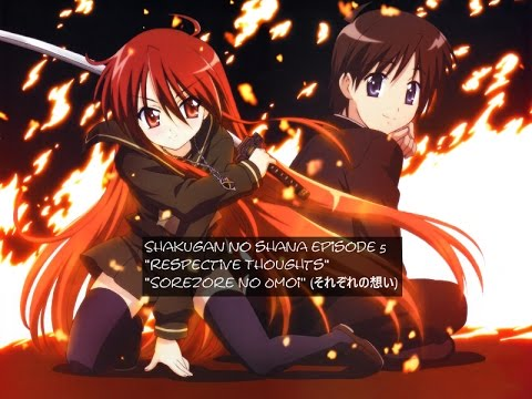 Shakugan no shana episode 5 english subs