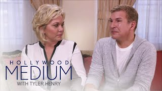 "Tyler Henry brings Todd and Julie Chrisley to tears during an emotional reading and more. See what happens on ""Hollywood Medium""!SUBSCRIBE: http://bit.ly/EentsubConnect with the Hollywood Medium:Visit the Hollywood Medium WEBSITE: http://www.eonline.com/shows/hollywood_mediumWatch the Hollywood Medium Full Episode: http://www.eonline.com/now/hollywood-medium-with-tyler-henry  Like Hollywood Medium on FACEBOOK: https://www.facebook.com/hollywoodmediumwithtylerhenry/Follow Hollywood Medium on TWITTER: https://twitter.com/hollywoodmediumAbout E! Entertainment:E! is on the Pulse of Pop Culture, bringing fans the very best original content including reality series, scripted programming, exclusive specials, breaking entertainment news, streaming events and more. Passionate viewers can't get enough of our Pop Culture hits including """"Keeping Up with the Kardashians,"" ""Fashion Police,"" ""The Royals,"" """"Total Divas"" and ""Botched."" And with new original programming on the way, fans have even more to love.Connect with E! Entertainment:Visit the E! WEBSITE: http://eonli.ne/1iX6d8n Like E! on FACEBOOK: http://eonli.ne/facebookCheck out E! on INSTAGRAM: http://eonli.ne/IGFollow E! on TWITTER: http://eonli.ne/twitterFollow E! on Spotify: http://eonli.ne/spotify""Hollywood Medium"" Recap Season 2, Episode 16  Hollywood Medium with Tyler Henry  E!http://www.youtube.com/user/Eentertainment"
