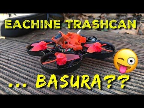 Trashcan: potencia al máximo en un tiny whoop