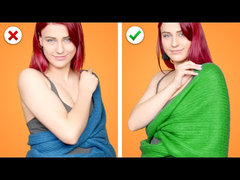 Awesome Fashion Hacks: 31 Way to Wear a Scarf - Thời lượng: 12 phút.