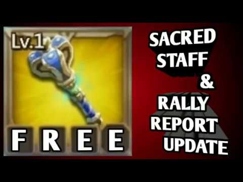 Lord's Mobile: Sacred Staff & Rallies!