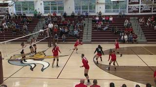 Full volleyball match: East Lyme over NFA 3-0