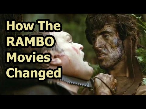 How The Rambo Movies Changed