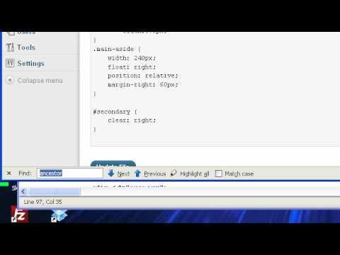 CSS – How To Create Colored Link Website Navigation-Bar WordPress Breadcrumbs Addendum #1