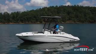 1. Yamaha 190 FSH Sport (2019-) Test Video - By BoatTEST.com