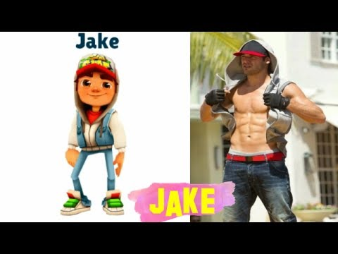 subway surfers in REAL LIFE All Characters 2017 #subwaysurfers (видео)