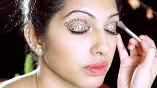 TAMIL: How To Do Leopard Eyeshadow Makeup