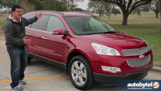 2012 Chevrolet Traverse Test Drive&Crossover SUV Review