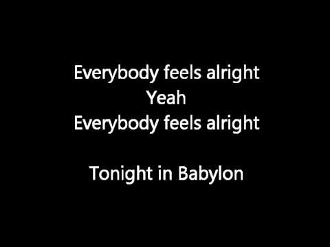 LoverushUK ft. Bryan Adams-- Tonight in Babylon Lyrics