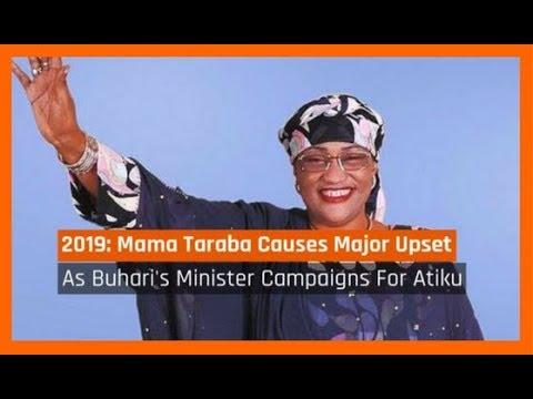 Nigeria News Today: Buhari's Minister Mama Taraba Campaigns For Atiku For 2019 (06/09/2017)