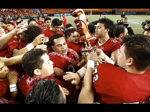 Hawaii High School Football Season Recap  2015 | HD