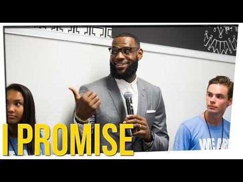 LeBron James Opens School for At-Risk Students ft. Sam Tripoli & DavidSoComedy