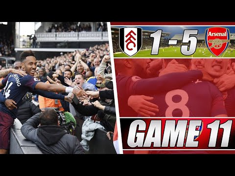 Fulham 1 V 5 Arsenal - We Were On Fire Today - Matchday Vlog