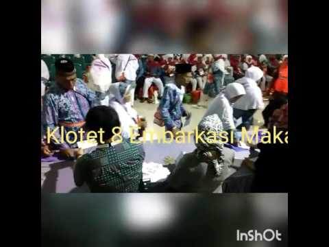 Pembagian Living Cost Kloter 8 Embarkasi Makassar