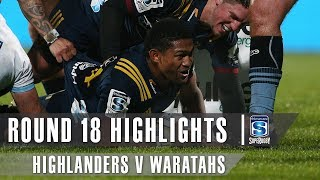 Highlanders v Waratahs Rd.18 2019 Super rugby video highlights | Super Rugby Video Highlights