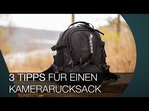 3 TIPPS für den richtigen Kamerarucksack