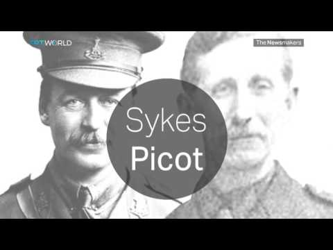 Resultado de imagen de Sykes-Picot
