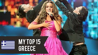My top 15 Greece's entries all time. ** Vote for the next country in the comments ** ↓ Respect my opinion and feel free to...