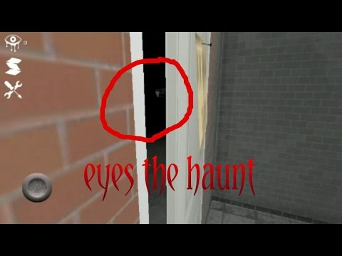 SCARY HORROR GAME ANDROID - eyes the haunt - complete walkthrough gameplay (видео)