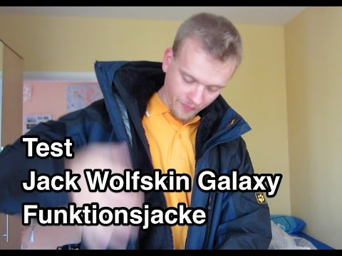 Test Jack Wolfskin Galaxy Jacke Funktionsjacke | Doppeljacke Test | Regenjacke Test