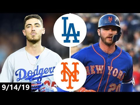Dodgers vs. Mets Highlights | September 14, 2019 | 2019 MLB Season