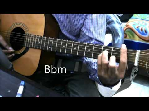 Bollywood Romantic Medley Fingerstyle picking – Guitar cover lesson chords beginners