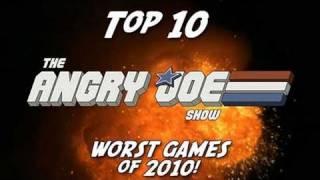 Video Top 10 WORST Games of 2010 - Angry Joe MP3, 3GP, MP4, WEBM, AVI, FLV Desember 2018