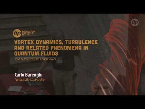 Turbulence in quantum fluids: Vinen vs Kolmogorov II - Carlo Barenghi