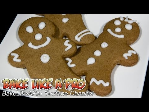 Super Easy Gingerbread Men Cookies Recipe !
