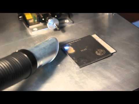 Лазерная гравировка металлов своими руками