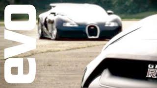 Bugatti Veyron vs Nissan GT-R - evo Magazine
