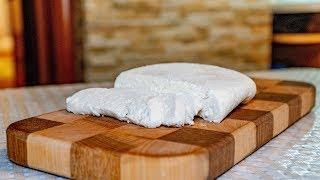 Сыр домашний, адыгейский сыр на молоке дома с уксусом
