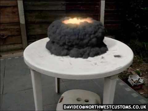 火柴也能核爆?傻眼了!