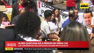 Ulises Quintana irá a prisión en Viñas Cue