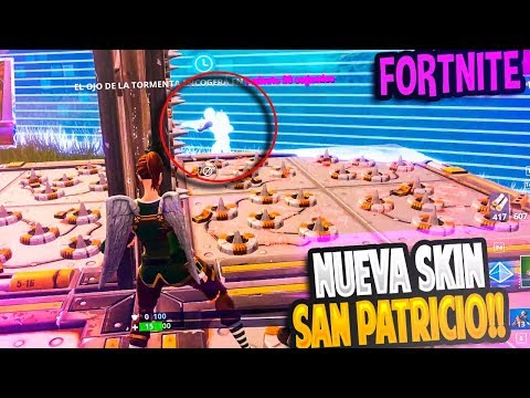 NUEVA SKIN del día de SAN PATRICIO!! | FORTNITE: Battle Royale | Rubinho vlc (видео)