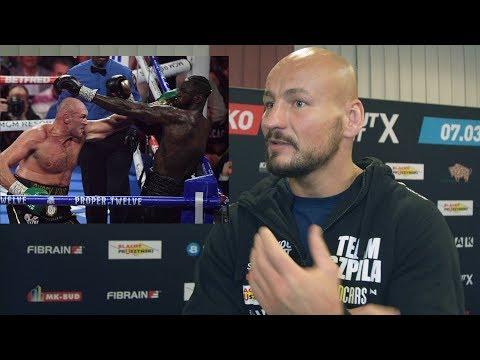 Artur Szpilka podsumowuje Wilder vs Fury 2