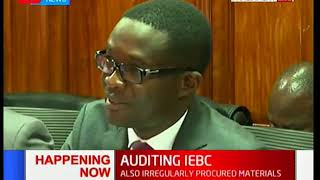 HAPPENING NOW: Chiloba appearing before PAC