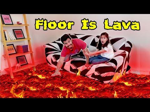 Floor Is Lava | Funny Video | Pari's Lifestyle