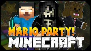 Minecraft: MARIO PARTY PART 1 w/JeromeASF&Taz! (Mini-Game)